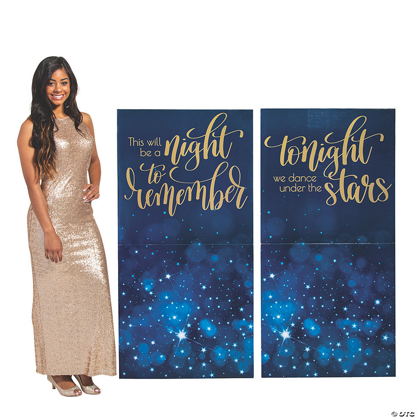 Starry Night Sign Cardboard Stand-Ups Audio Thumbnail