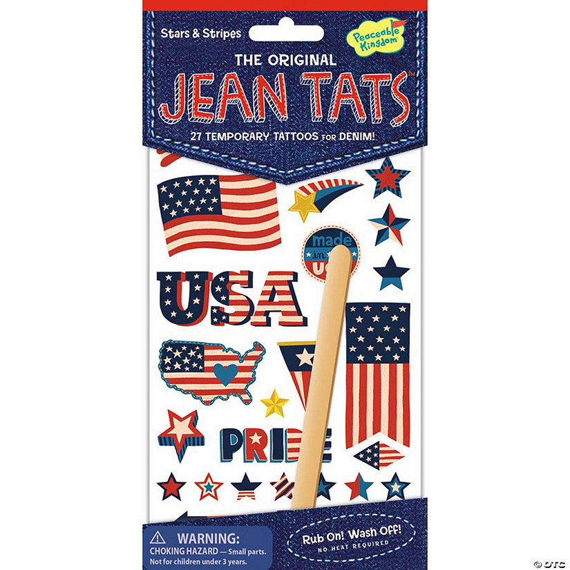 Stars & Stripes Jean Tats Pack Audio Thumbnail