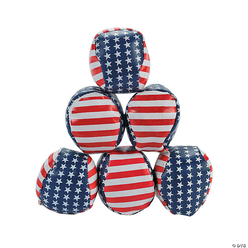 Stars & Stripes Kickballs