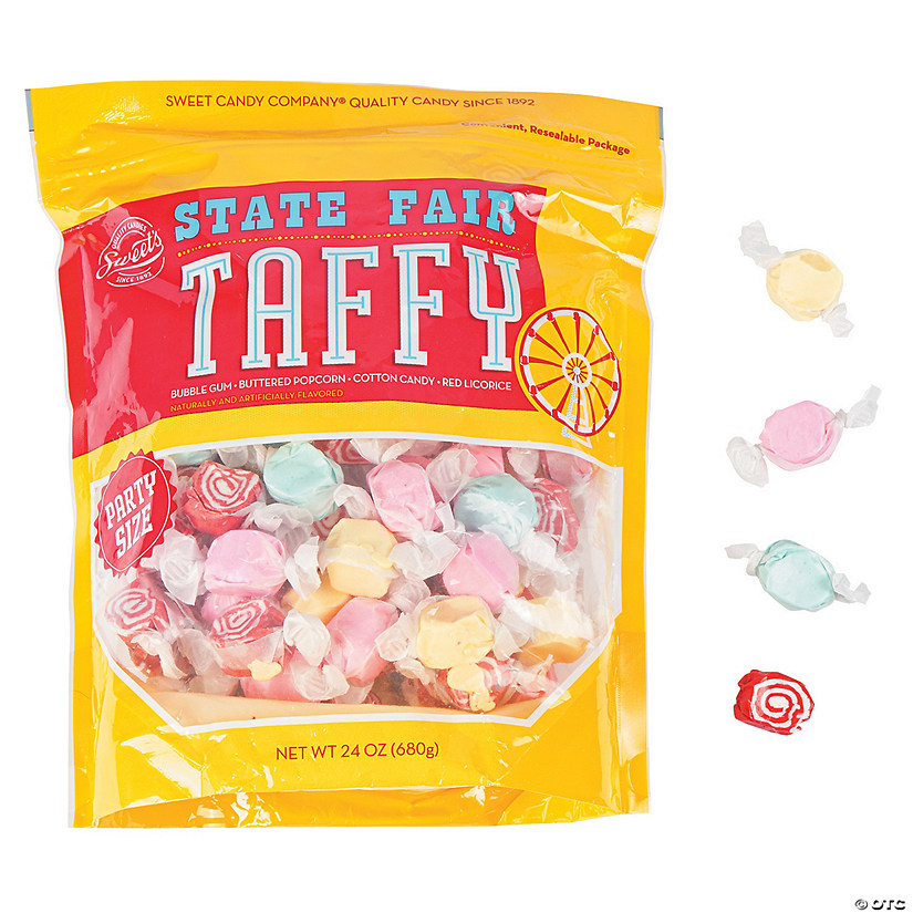 State Fair Salt Water Taffy Candy Audio Thumbnail
