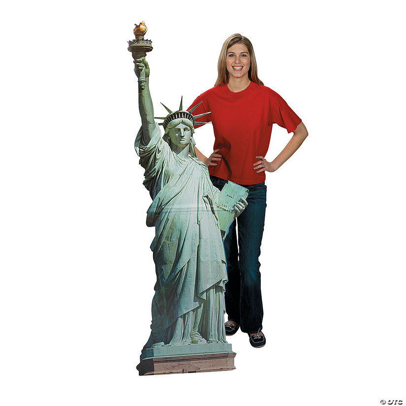 Statue of Liberty Cardboard Stand-Up Audio Thumbnail