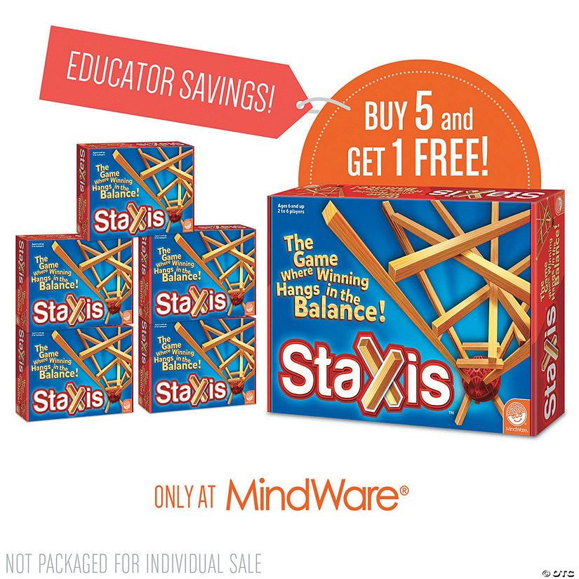 Staxis: Classroom Set of 6 Audio Thumbnail