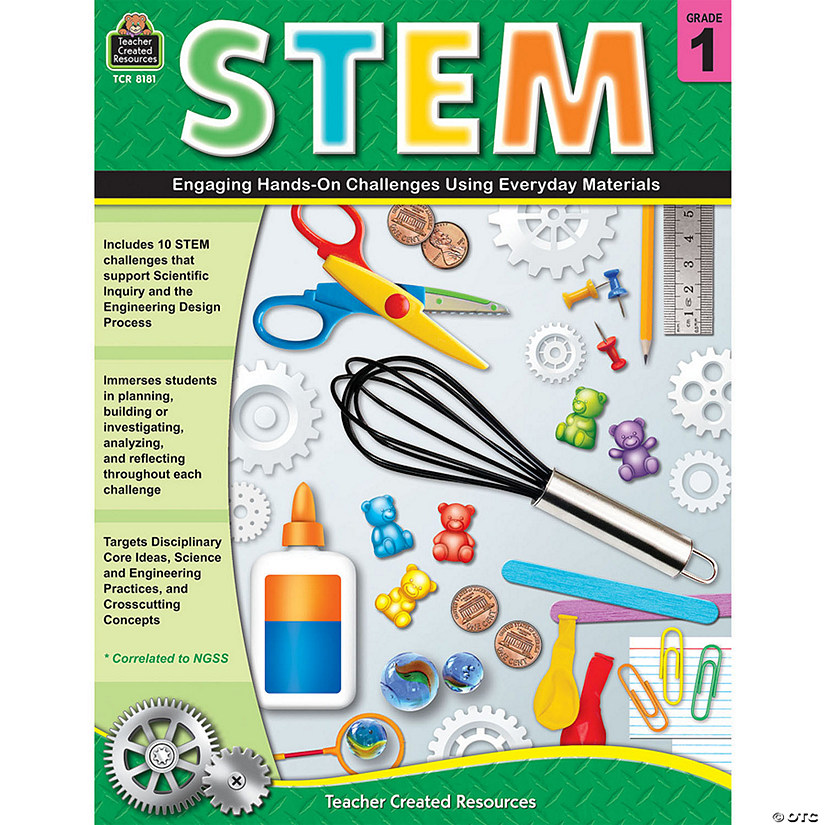 STEM: Engaging Hands-On Challenges Using Everyday Materials, Grade 1 Audio Thumbnail