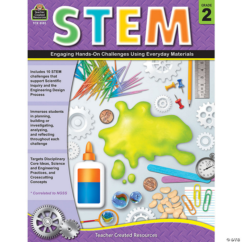 STEM: Engaging Hands-On Challenges Using Everyday Materials, Grade 2 Audio Thumbnail
