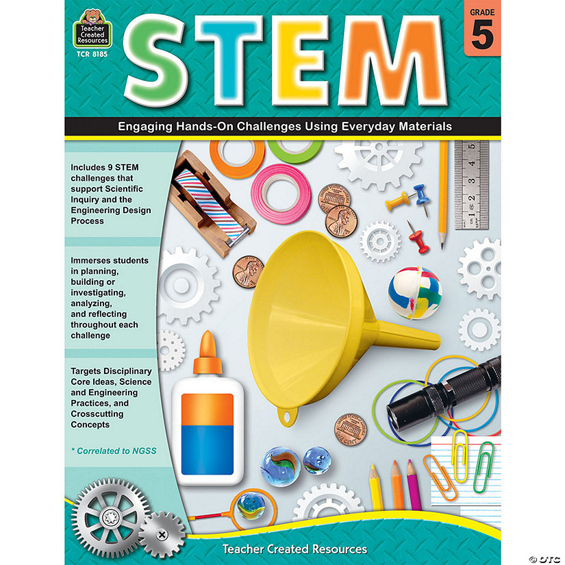 STEM: Engaging Hands-On Challenges Using Everyday Materials, Grade 5 Audio Thumbnail