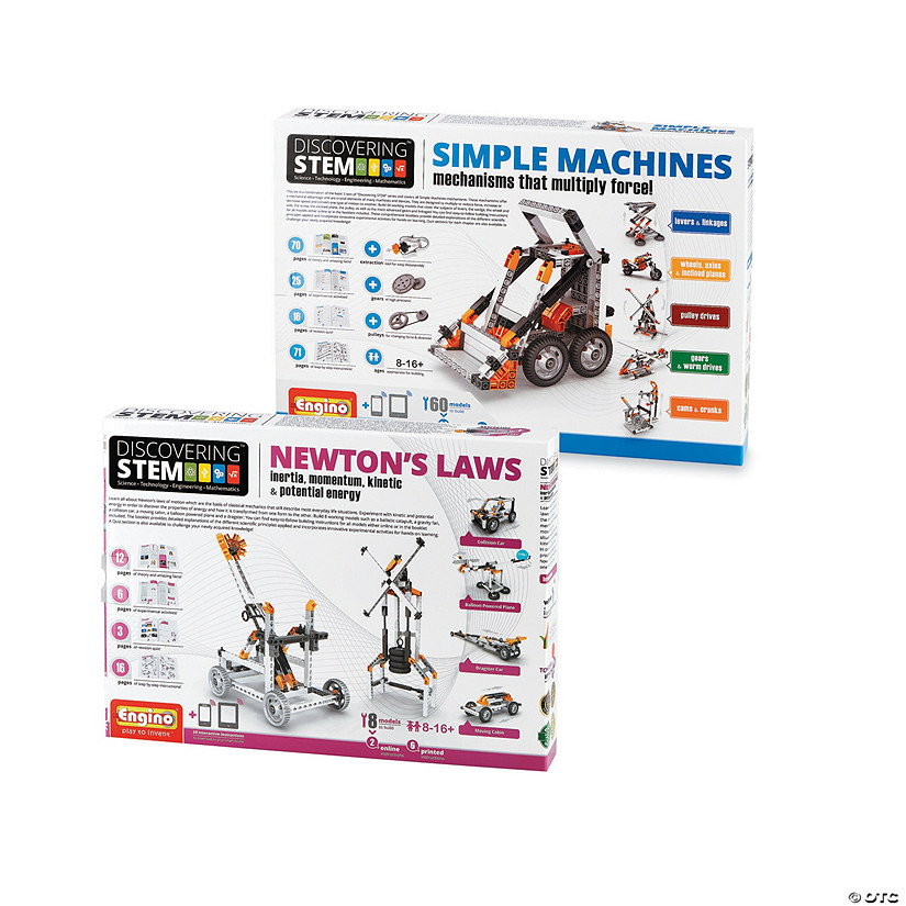 STEM Machines Engineering Kits: Set of 2 Image Thumbnail