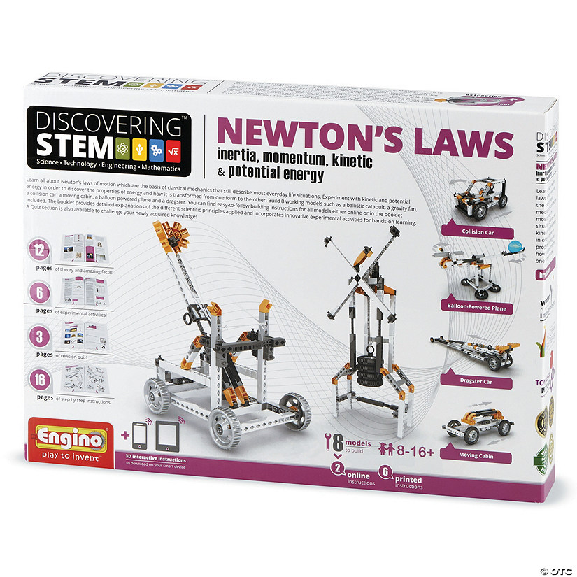 STEM Newton's Laws Engineering Kit Image Thumbnail
