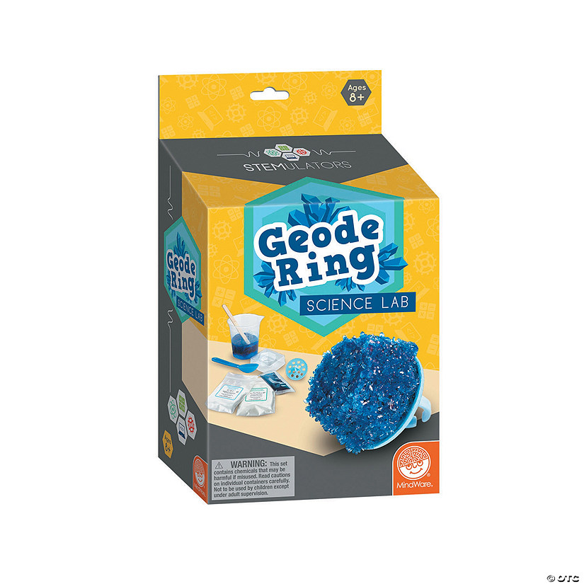 STEMULATORS: Geode Ring Lab Image Thumbnail
