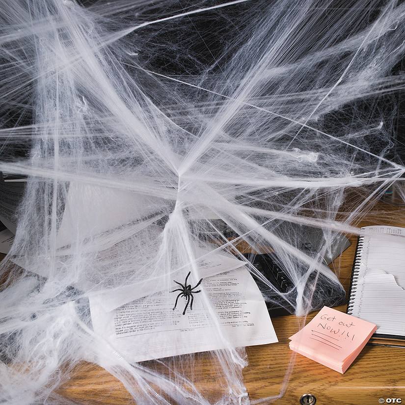 Stretchable Spider Webs Halloween Decoration Audio Thumbnail