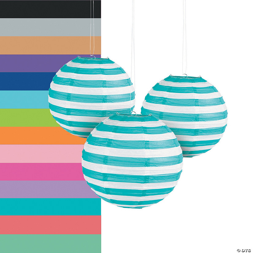 Striped Paper Lanterns Audio Thumbnail