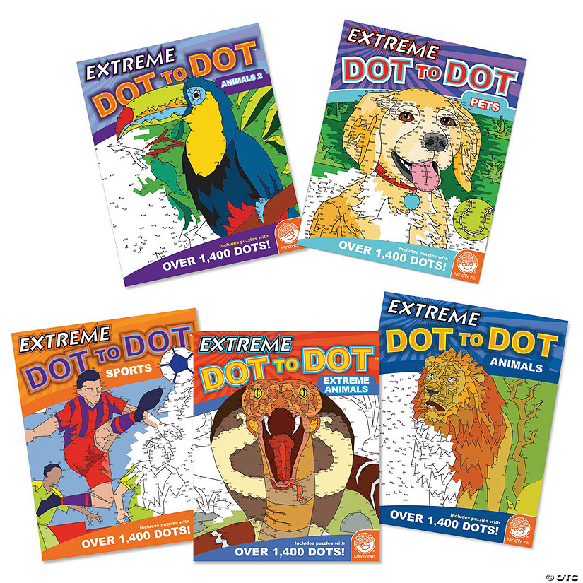 Student's Favorite Extreme Dot To Dot Books: Set of 5 Audio Thumbnail