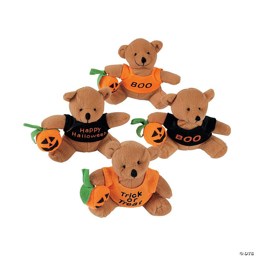 Stuffed Bears with A Halloween T-Shirt Audio Thumbnail