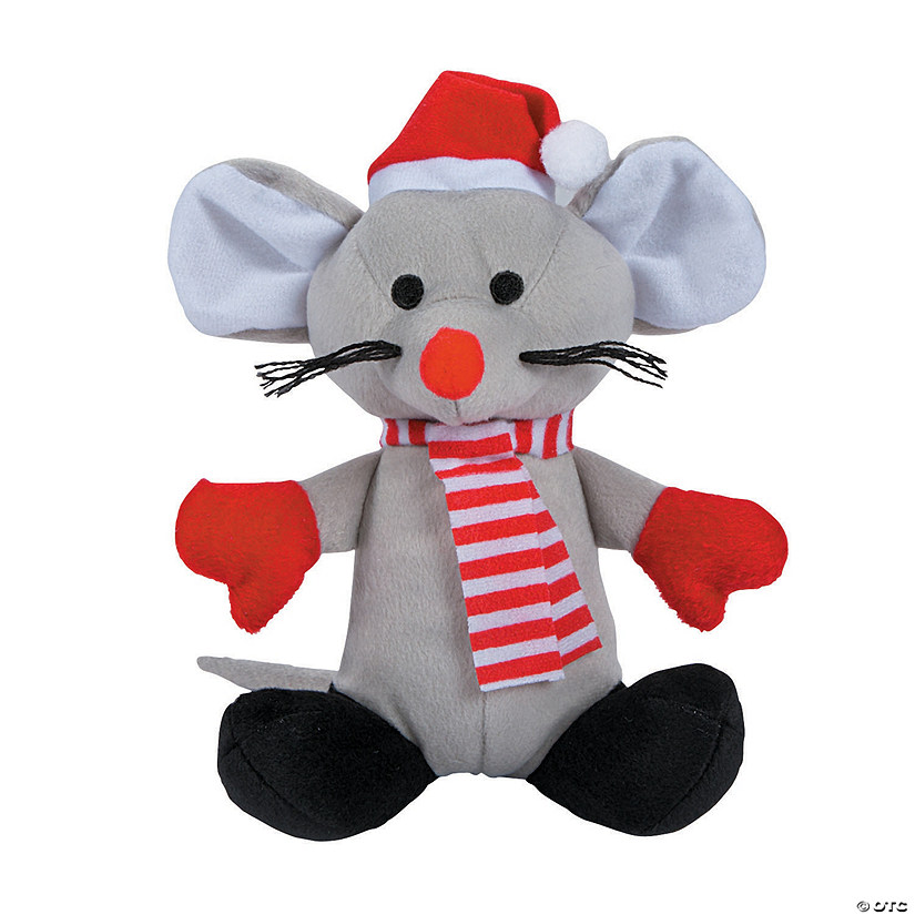 Stuffed Christmas Mouse Discontinued