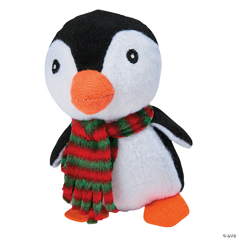 Stuffed Penguins with Plaid Scarf Audio Thumbnail