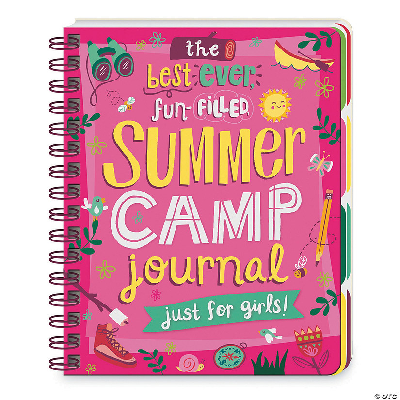 Summer Camp Journal For Girls Audio Thumbnail