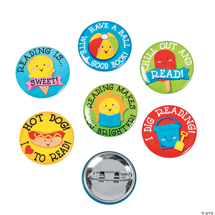 Summer Reading Mini Buttons