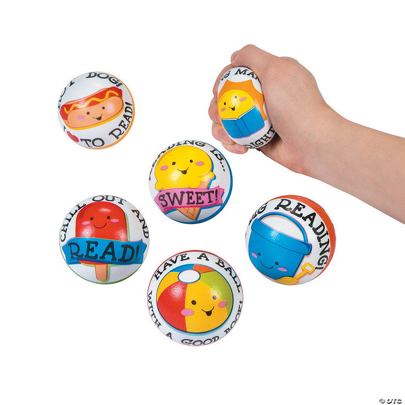 Summer Reading Stress Balls