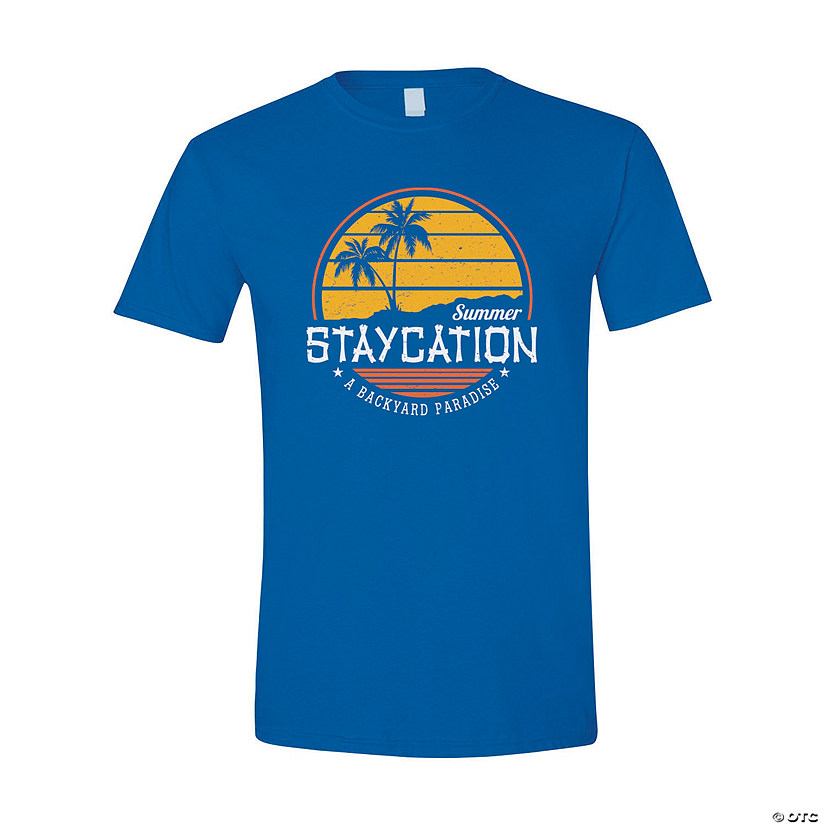 Summer Staycation Adult's T-Shirt Image Thumbnail
