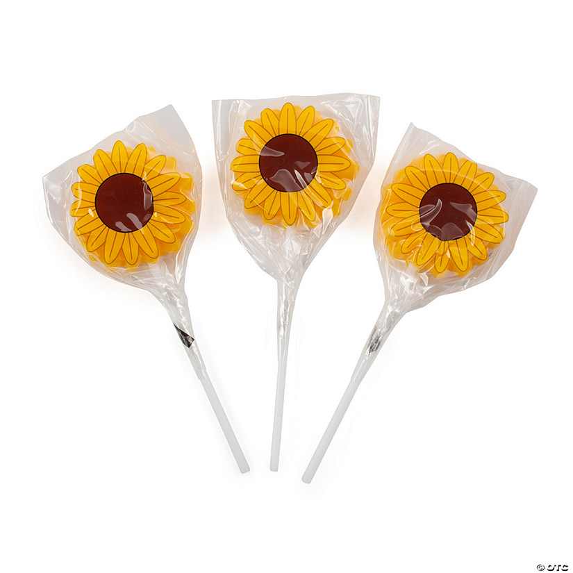 Sunflower Lollipops