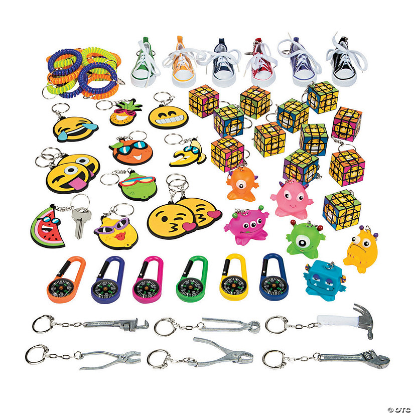 Super Fun Keychain Assortment