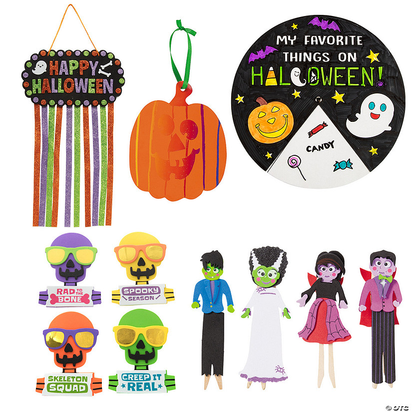 Super Halloween Craft Assortment Image Thumbnail