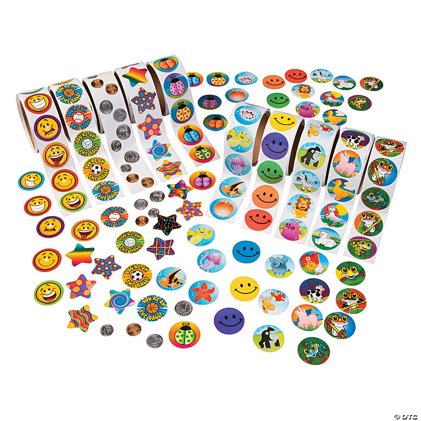 Super Rolls of Stickers Assortment Audio Thumbnail