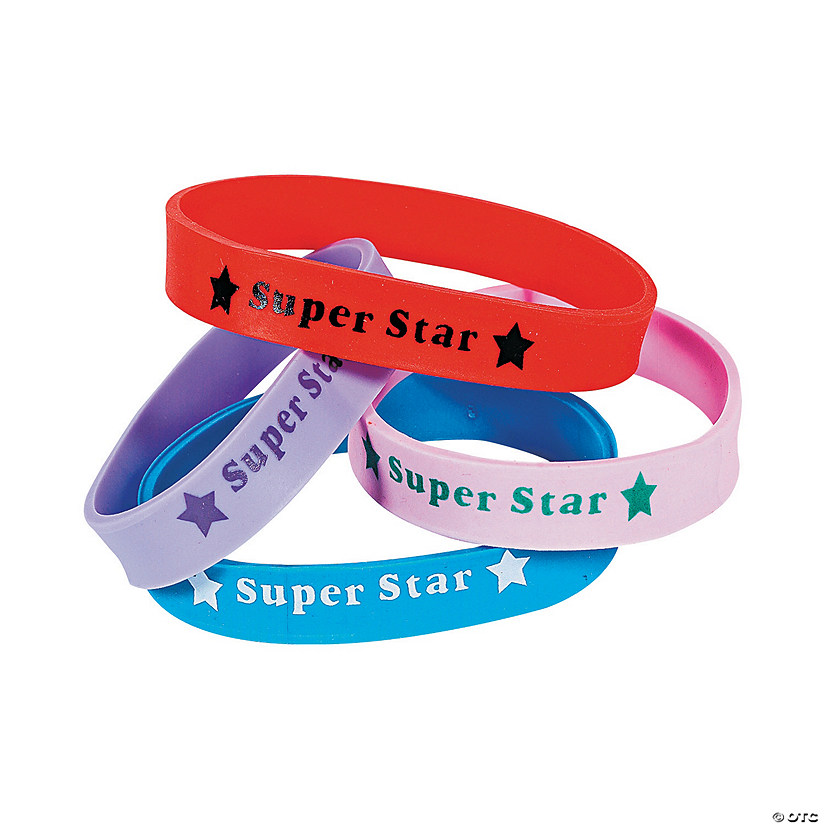 Super Star Rubber Bracelets