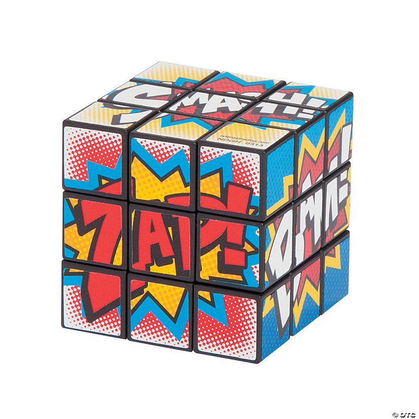 Superhero Mini Puzzle Cubes