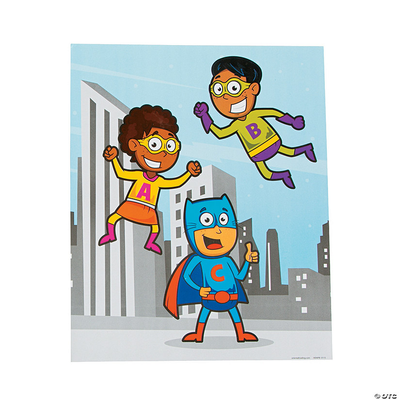 Superhero Pocket Folders