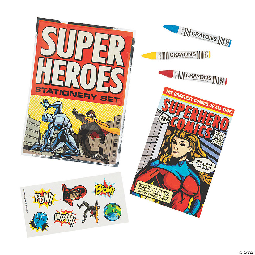 Superhero Stationery Sets Audio Thumbnail