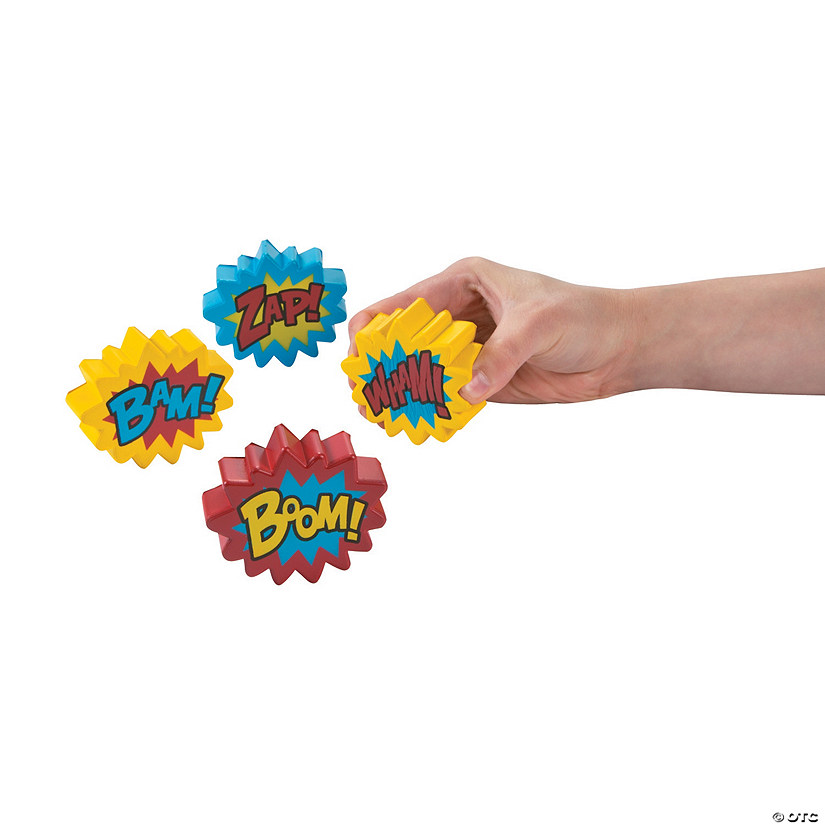 Superhero Stress Toys