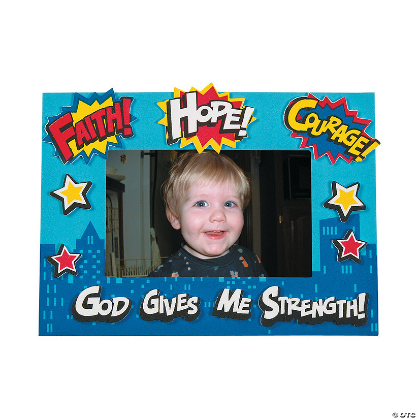 Superhero VBS Picture Frame Magnet Craft Kit Audio Thumbnail