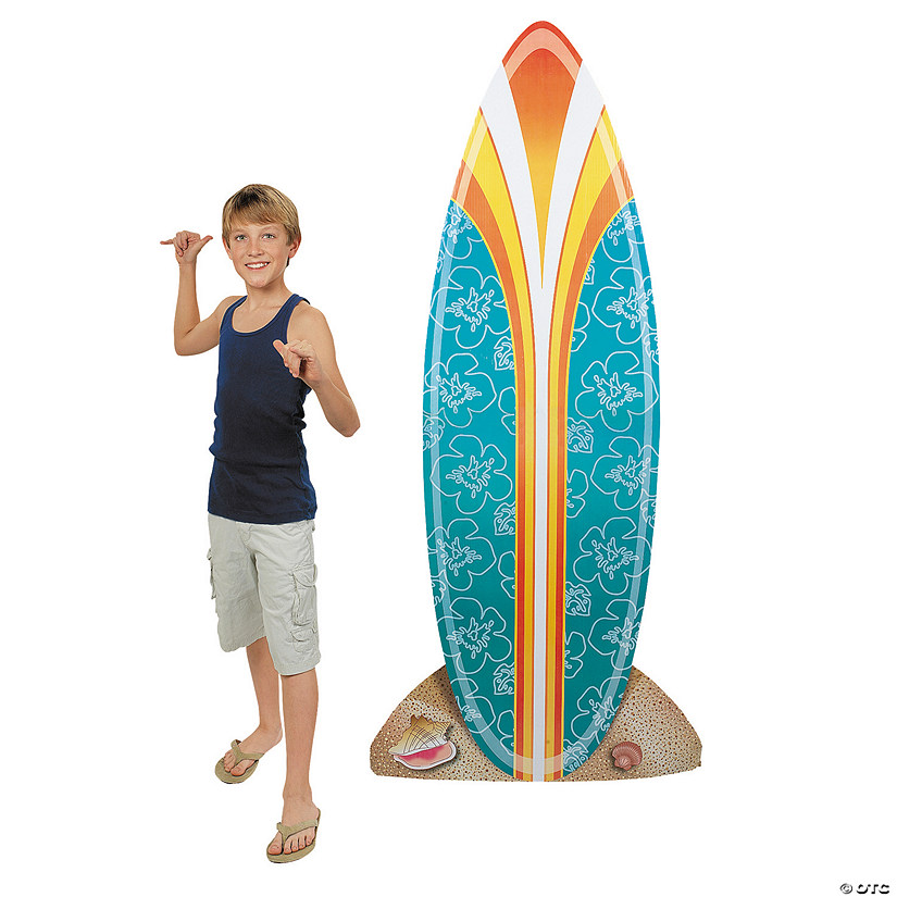 Surfboard Cardboard Stand-Up Audio Thumbnail