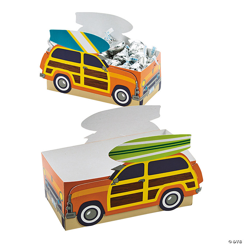 Surf's Up Favor Boxes