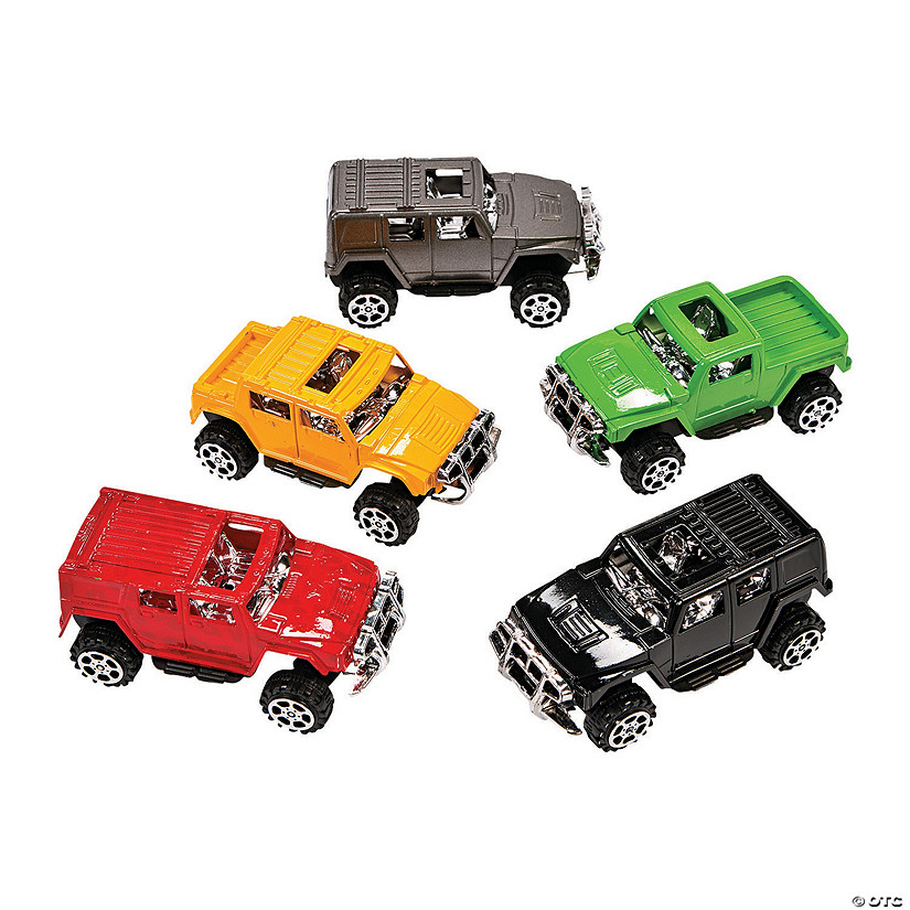SUV Pull-Back Car Assortment Image Thumbnail