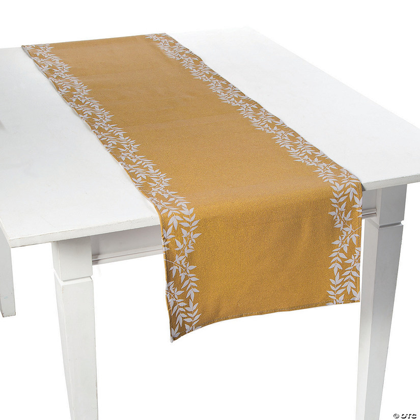 Sweet Fall Fabric Table Runner