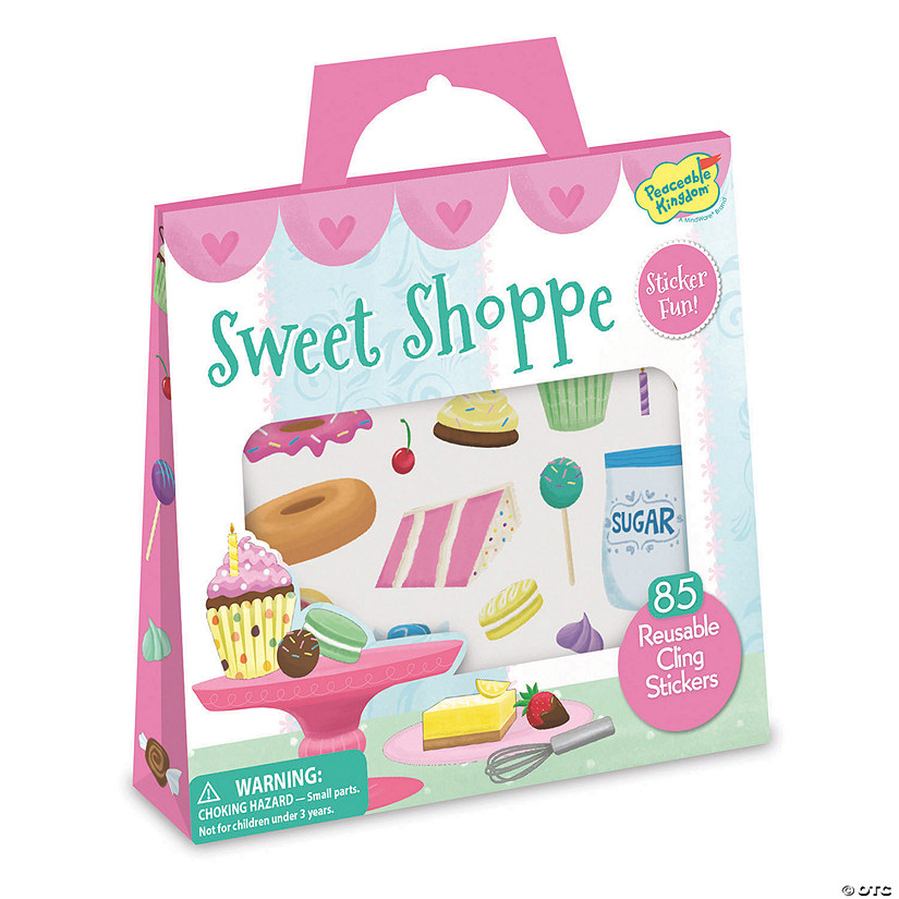 Sweet Shoppe Reusable Sticker Tote Audio Thumbnail