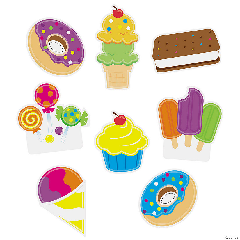 Sweet Treat Bulletin Board Cutouts