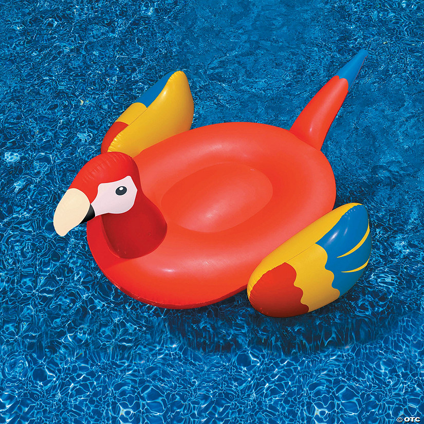 Swimline Inflatable Giant Parrot Pool Float Audio Thumbnail