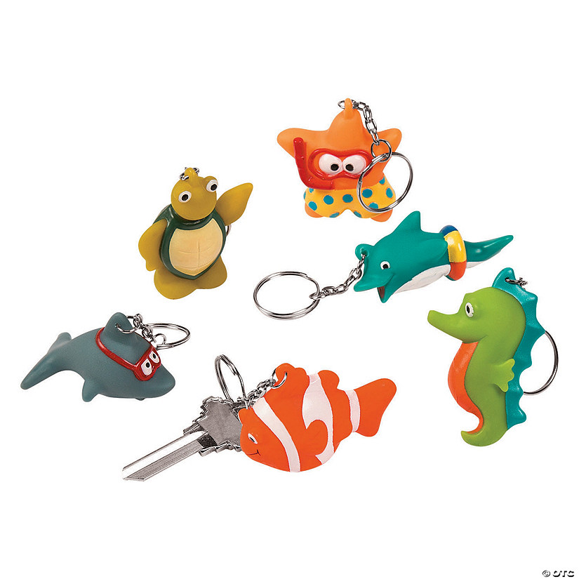 Swimming Sea Life Keychains Audio Thumbnail