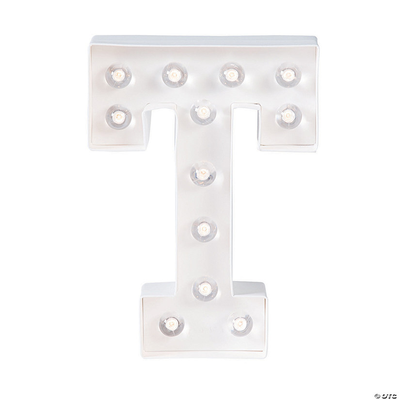"""T"" Marquee Light-Up Kit Image Thumbnail"