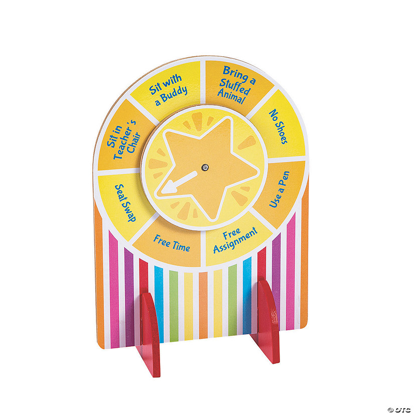 Tabletop Classroom Prize Wheel Image Thumbnail