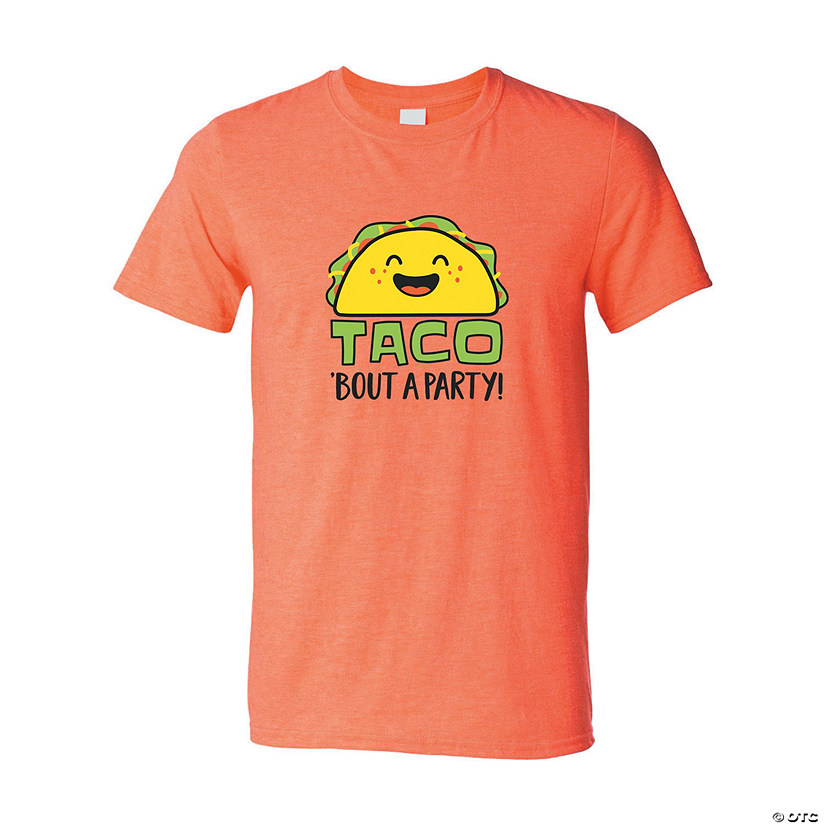Taco 'Bout a Party Adult's T-Shirt Image Thumbnail