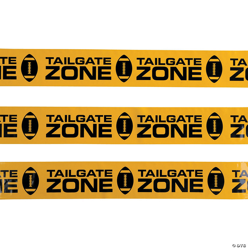Tailgate Zone Party Tape Image Thumbnail