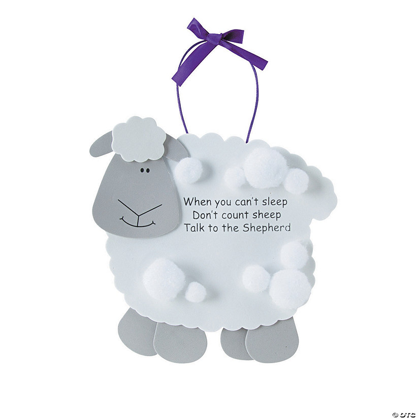 """Talk To the Shepherd"" Lamb Craft Kit Image Thumbnail"