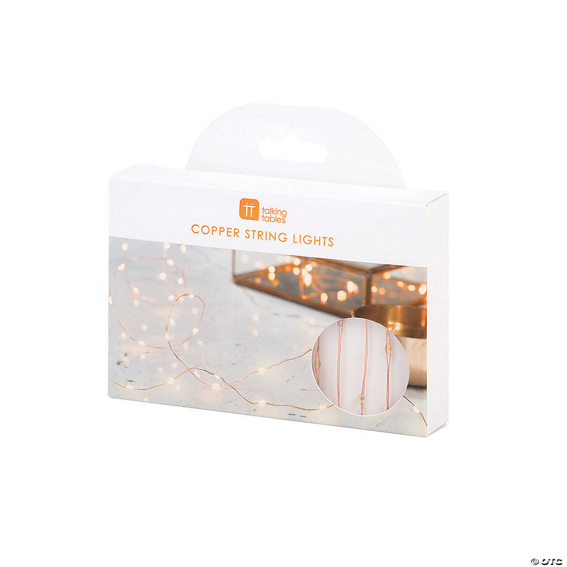 Talking Tables Party Illuminations Copper String Lights Audio Thumbnail