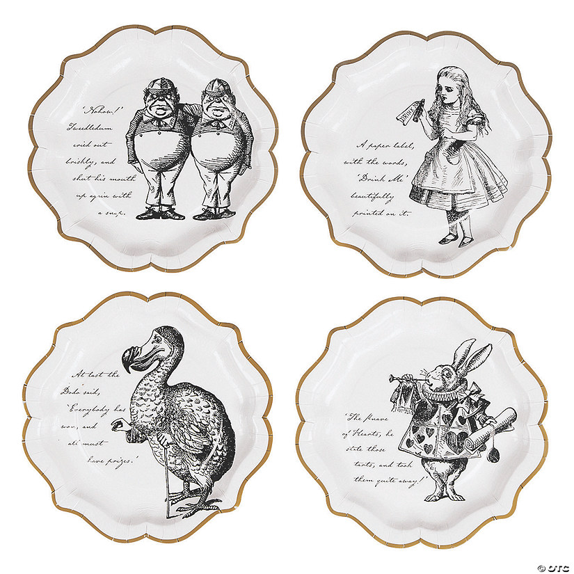 Talking Tables Truly Alice Dinner Plates - 8 Ct. Image Thumbnail