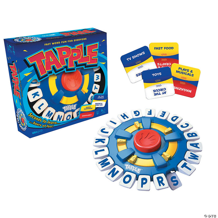Tapple® Fast Word Fun For Everyone!