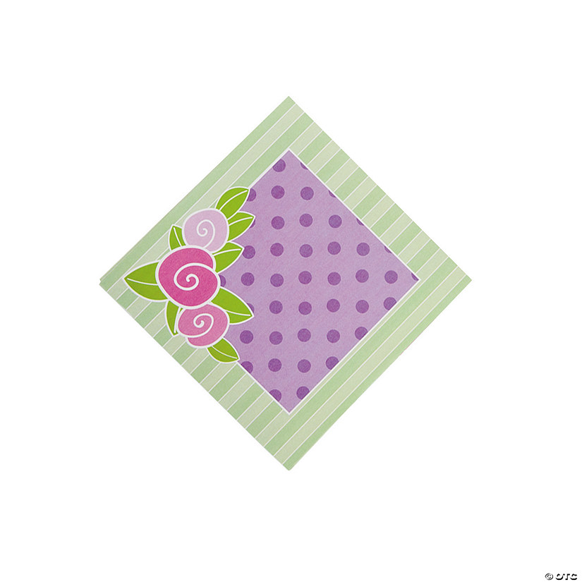 Tea Party Beverage Napkins Audio Thumbnail