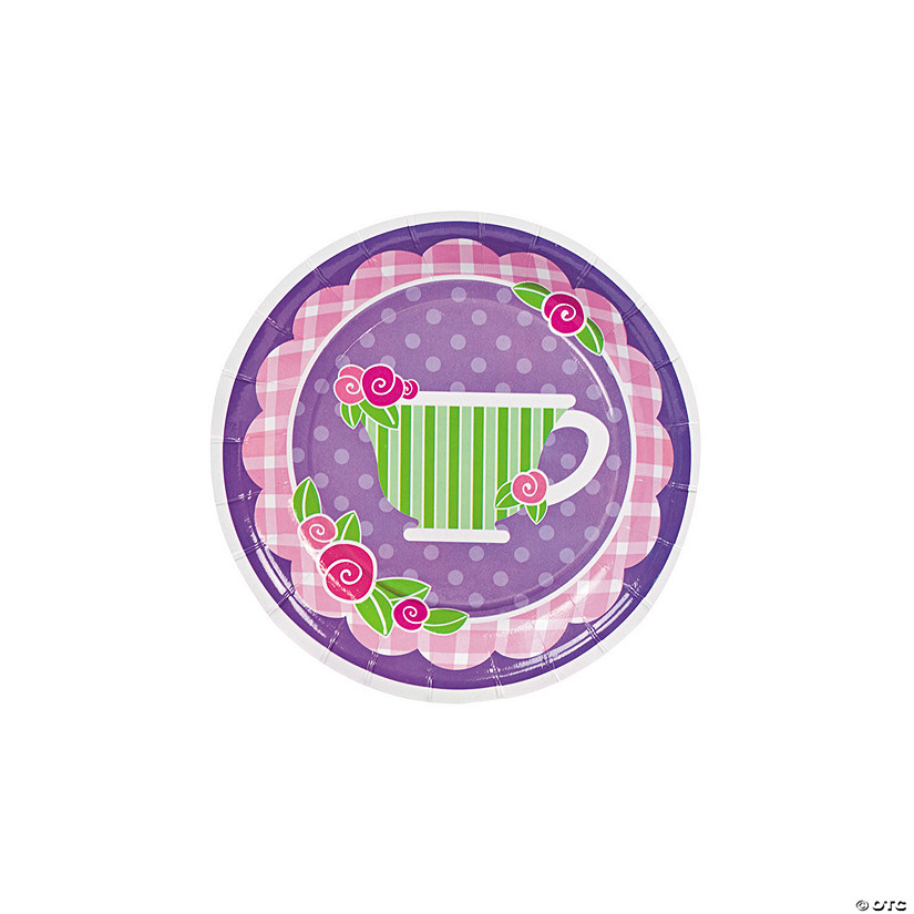 Tea Party Paper Dessert Plates Audio Thumbnail